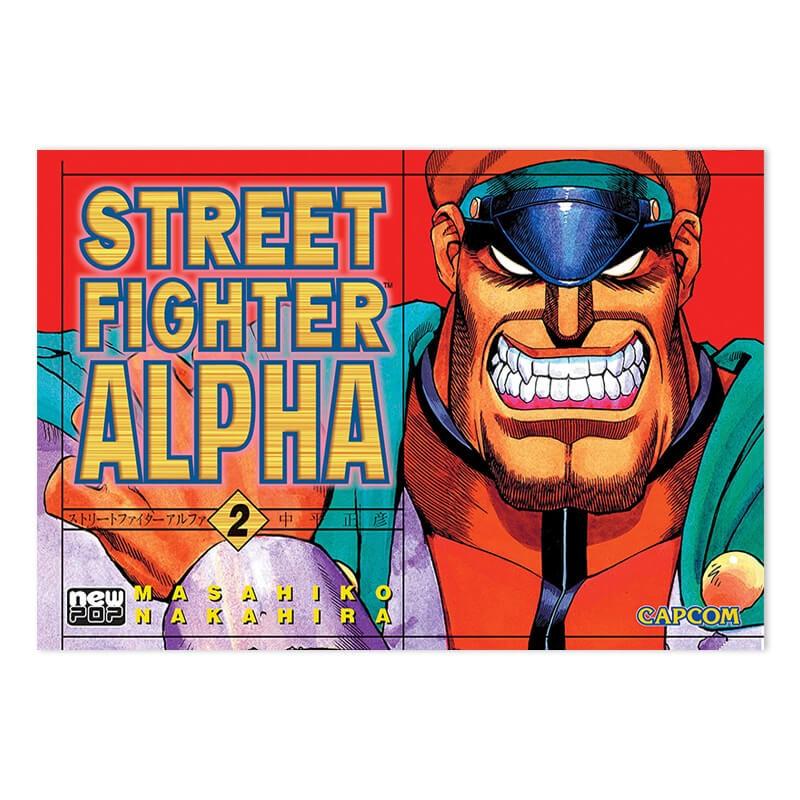 Mangá Street Fighter Alpha - Volume 02