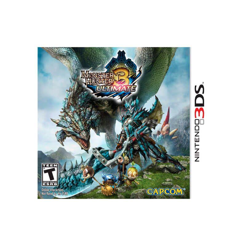 Jogo Monster Hunter 3: Ultimate - Nintendo 3DS