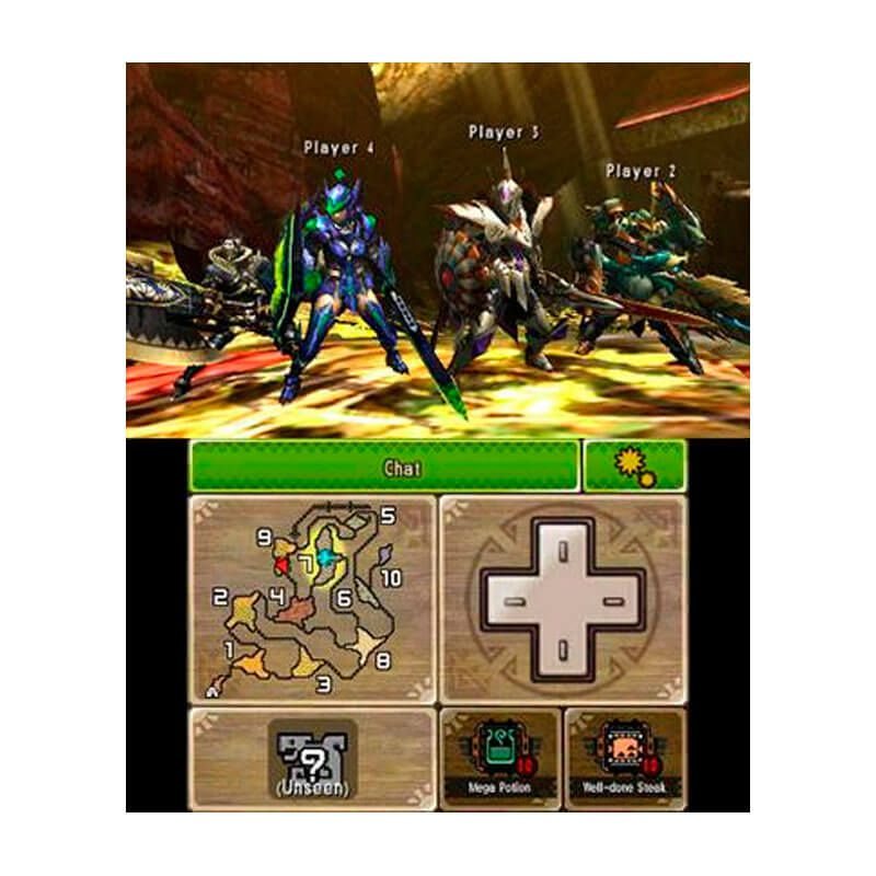 Jogo Monster Hunter 4: Ultimate - Nintendo 3DS
