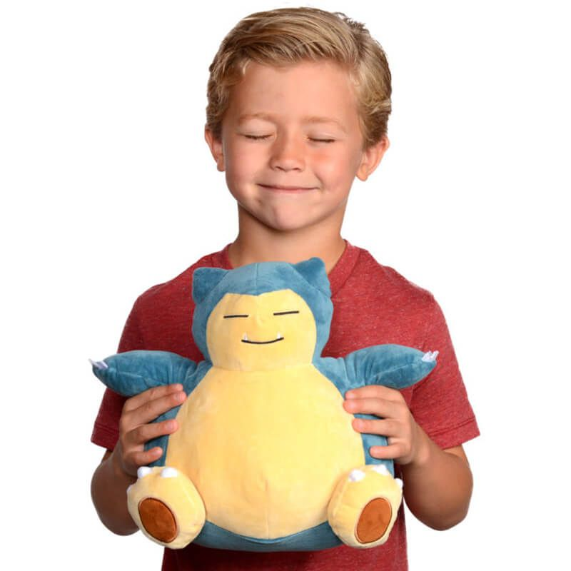 "Pelúcia Pokémon 12"" - Snorlax | WCT/DTC"