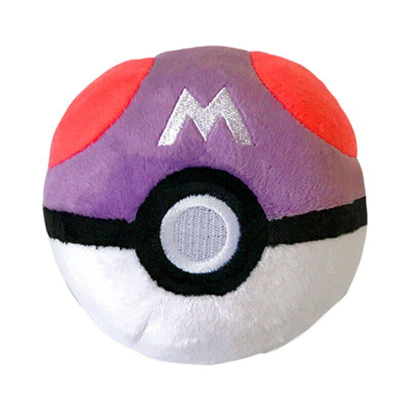 "Pelúcia Pokémon 4"" - Bola Mestra (Master Ball) | WCT/DTC"