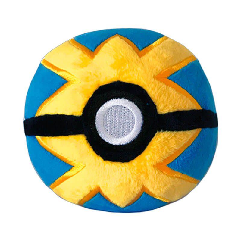 "Pelúcia Pokémon 4"" - Bola Rápida (Quick Ball) | WCT/DTC"