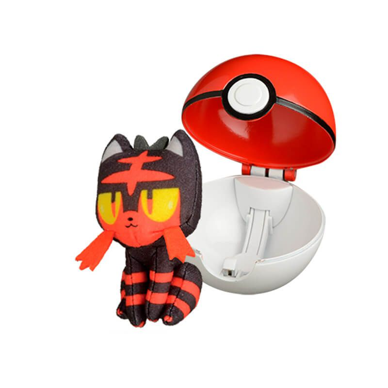Pelúcia Pokémon POP Action Pokébola - Litten | WCT/DTC