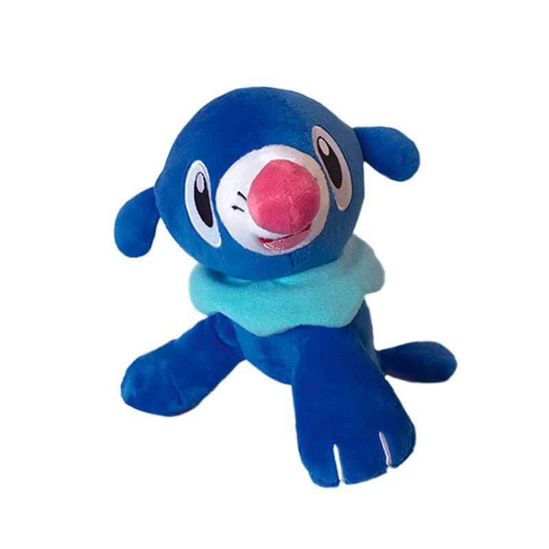 "Pelúcias Pokémon 8"" - Rowlet + Litten + Popplio| WCT/DTC"