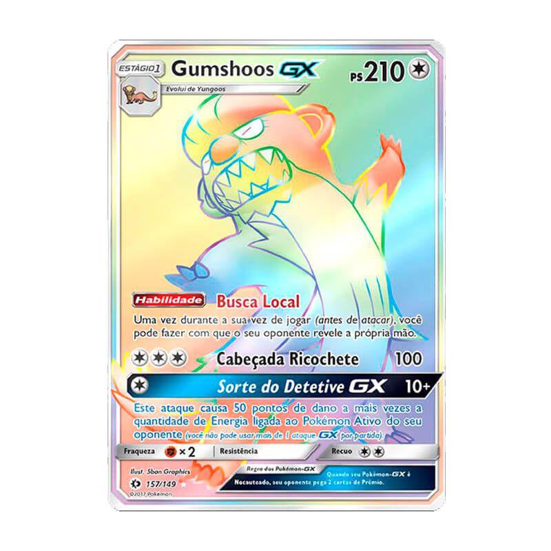 Pokémon TCG: Gumshoos GX (157/149) - SM1 Sol e Lua