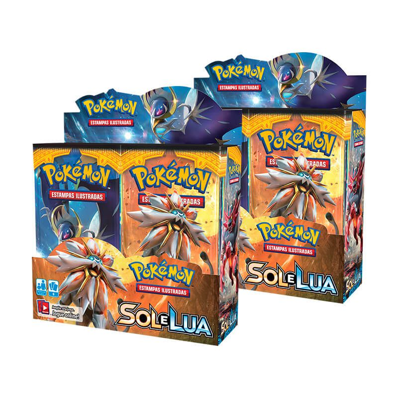 Pokémon TCG: 2x Booster Box (36 unidades) SM1 Sol e Lua