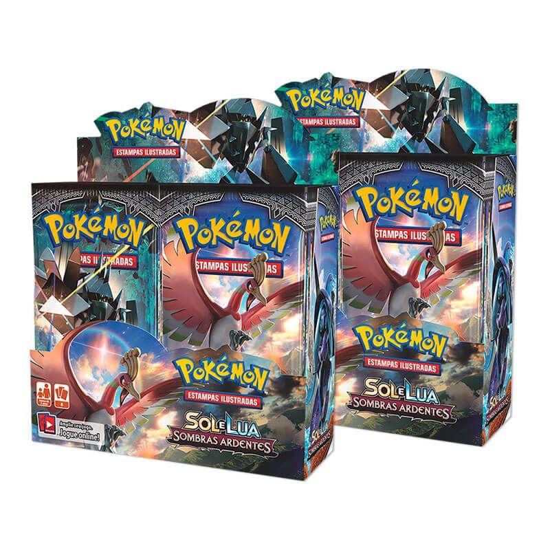 Pokémon TCG: 2x Booster Box (36 unidades) SM3 Sombras Ardentes