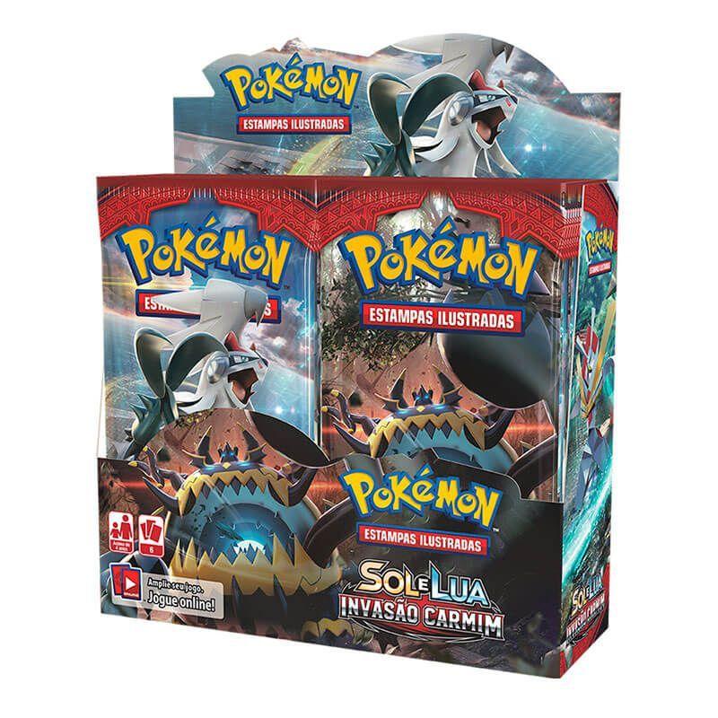 Pokémon TCG: 2x Booster Box (36 unidades) SM4 Invasão Carmim