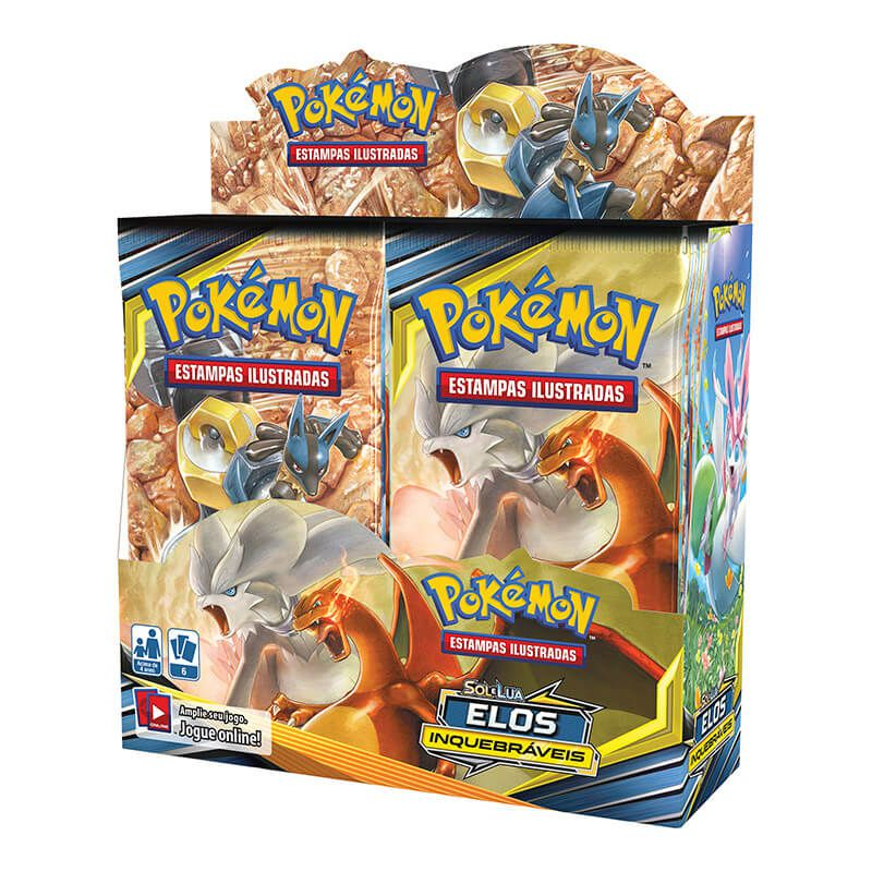 Pokémon TCG: 4x Booster Box (36 unidades) SM10 Elos Inquebráveis