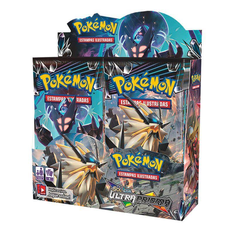 Pokémon TCG: 4x Booster Box (36 unidades) SM5 Ultra Prisma