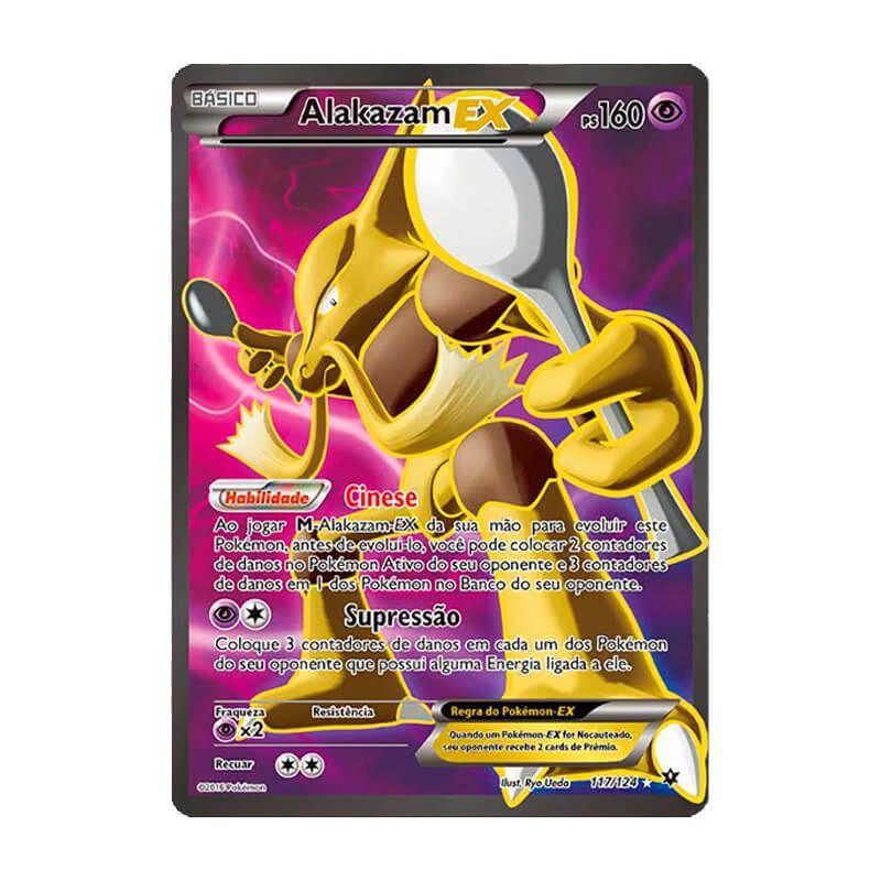 Pokémon TCG: Alakazam EX (117/124) - XY10 Fusão de Destinos
