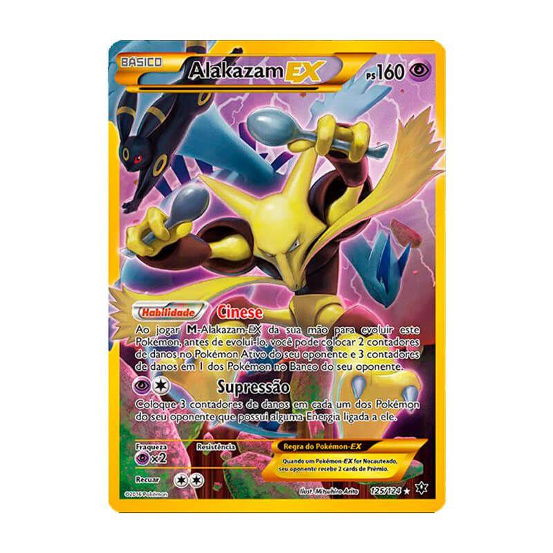 Pokémon TCG: Alakazam EX (125/124) - XY10 Fusão de Destinos