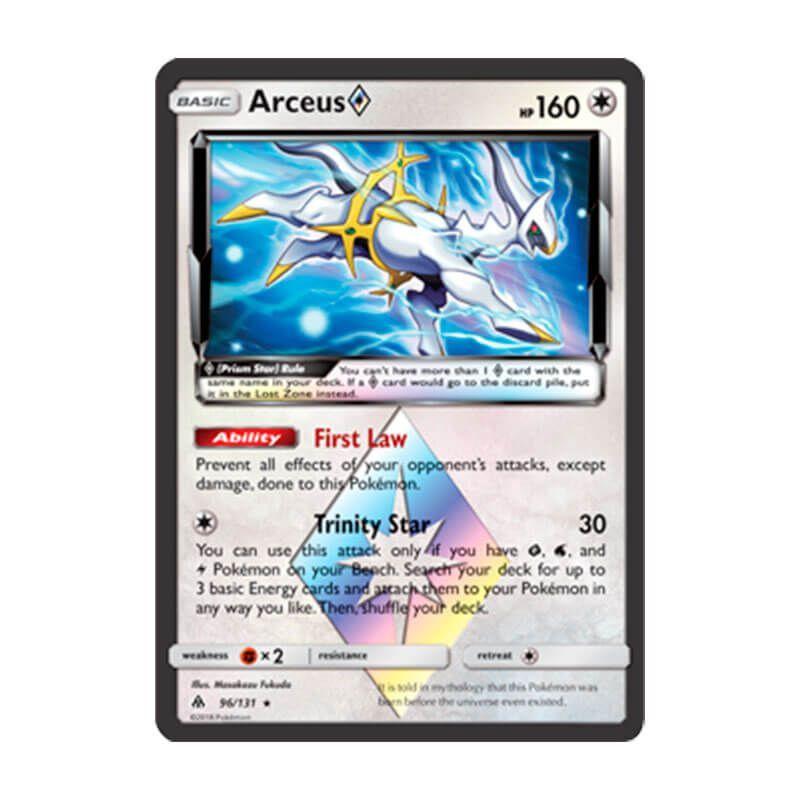 Pokémon TCG: Arceus Estrela Prisma (96/131) - SM6 Luz Proibida