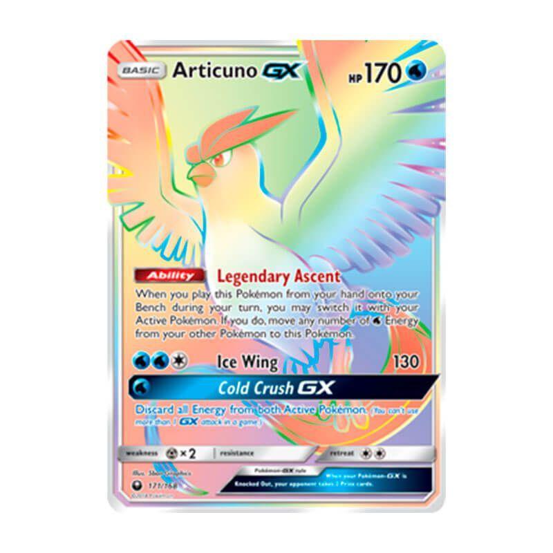 Pokémon TCG: Articuno GX (171/168) - SM7 Tempestade Celestial