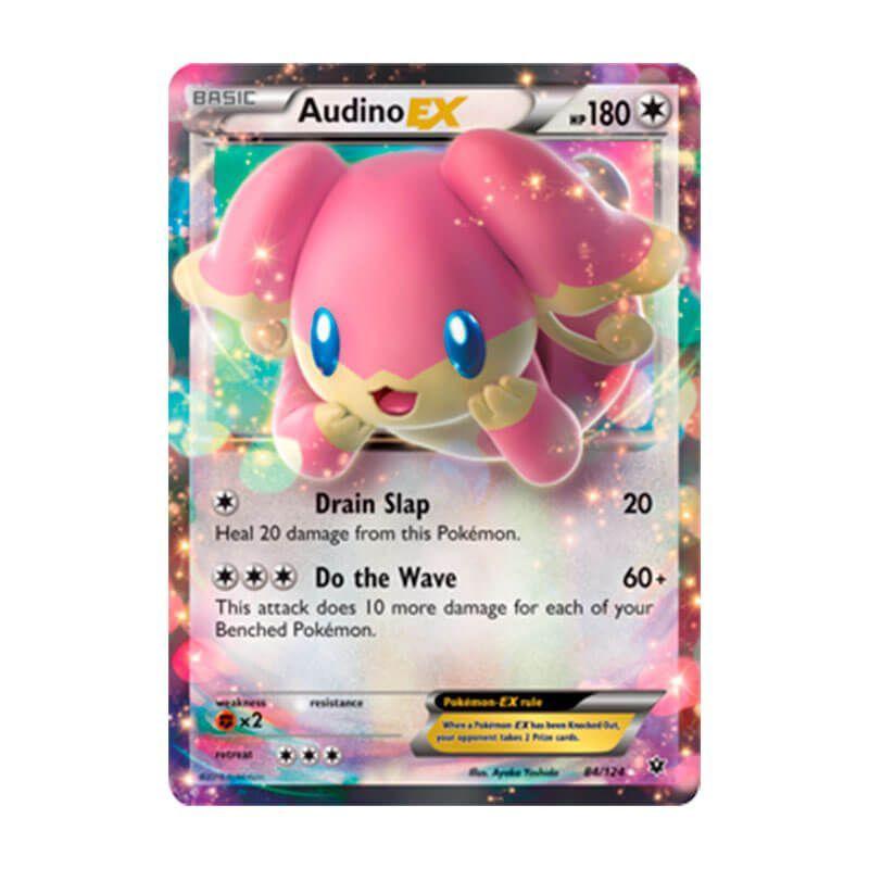 Pokémon TCG: Audino EX (84/124) - XY10 Fusão de Destinos