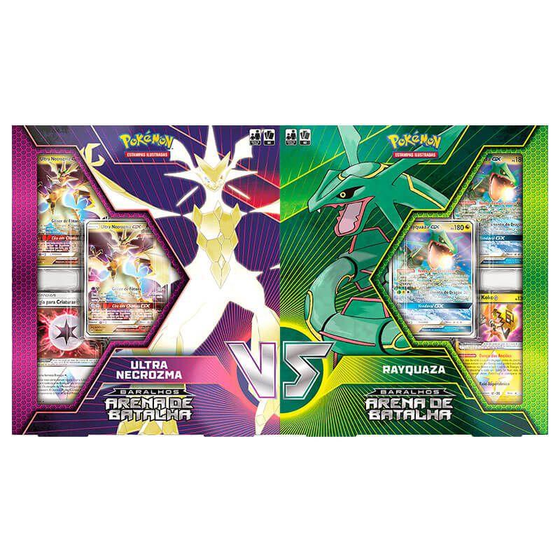 Pokémon TCG: Baralhos Arena de Batalha - Ultra Necrozma VS Rayquaza