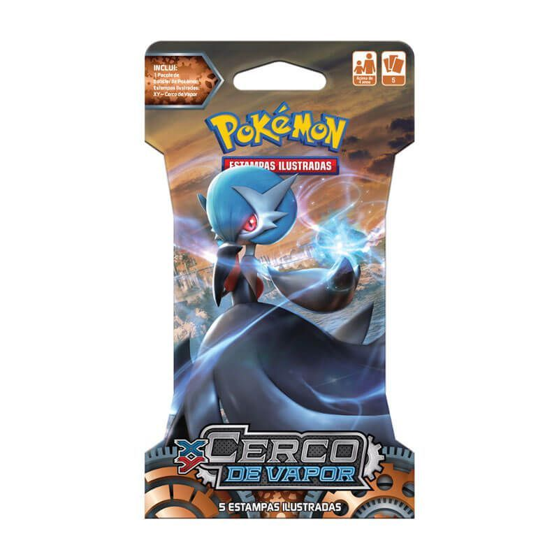 Pokémon TCG: Blister XY11 Cerco de Vapor - Gardevoir