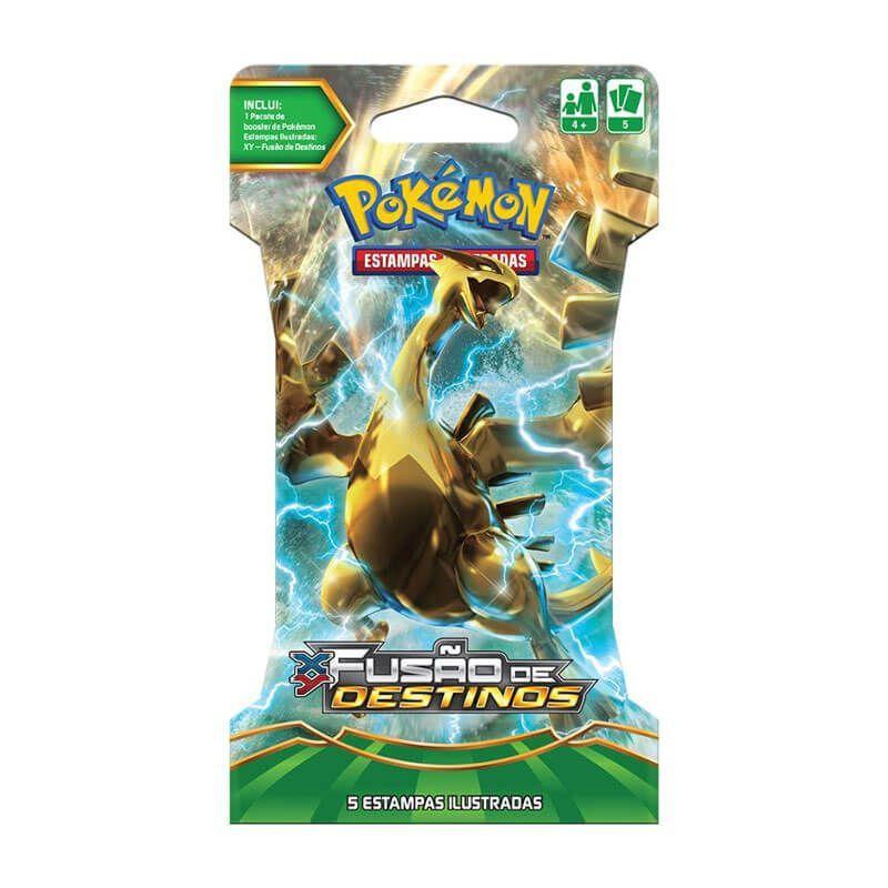 Pokémon TCG: Blister Lugia Turbo - XY10 Fusão de Destinos