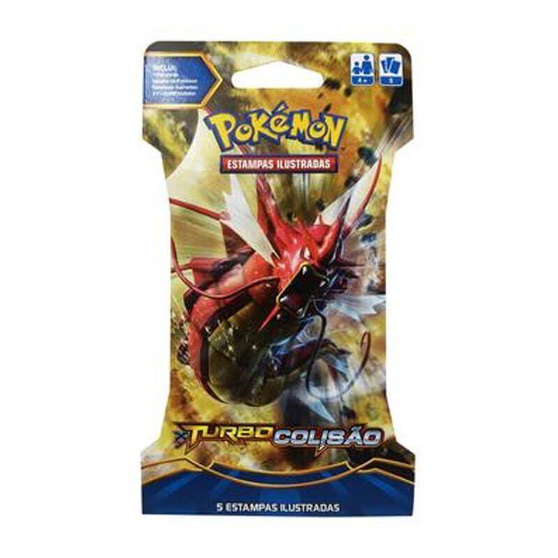 Pokémon TCG Blister Mega Gyarados EX - XY 9 Turbo Colisão