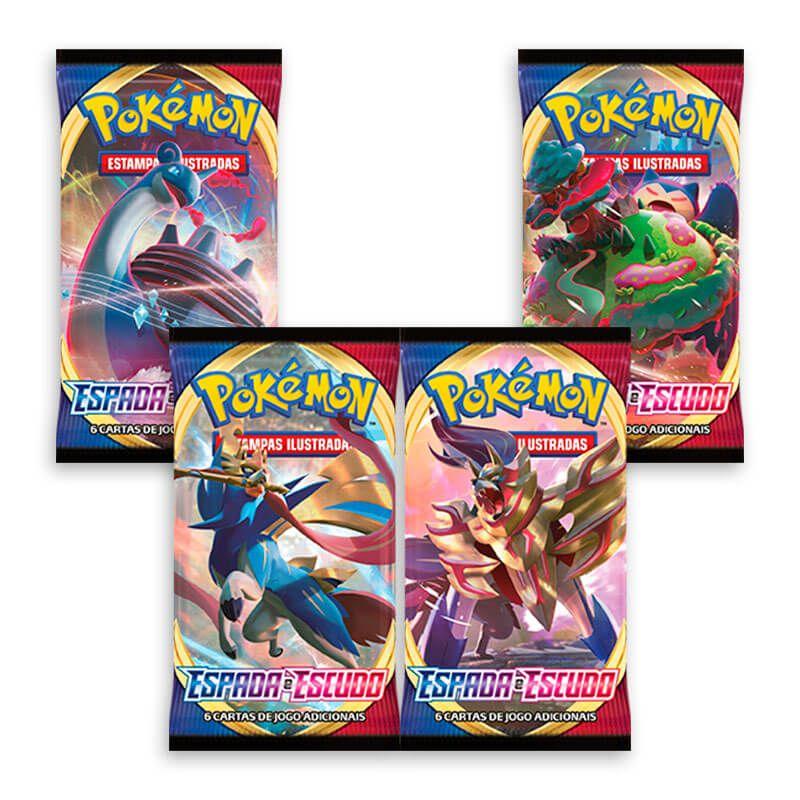 Pokémon TCG: Booster Box (36 pacotes) SWSH1 Espada e Escudo