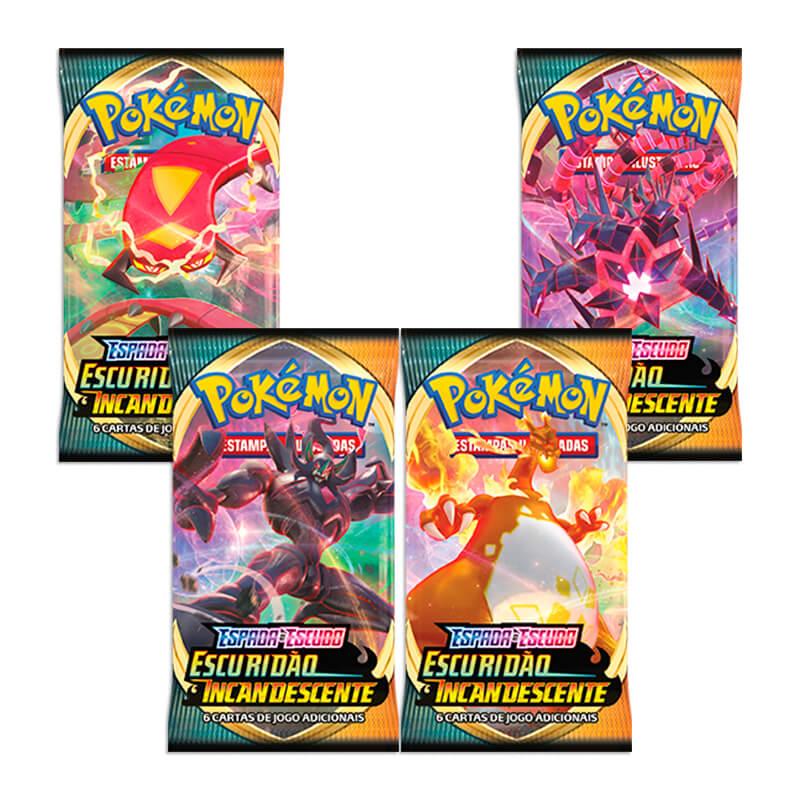 Pokémon TCG: Booster Box (36 pacotes) SWSH3 Escuridão Incandescente