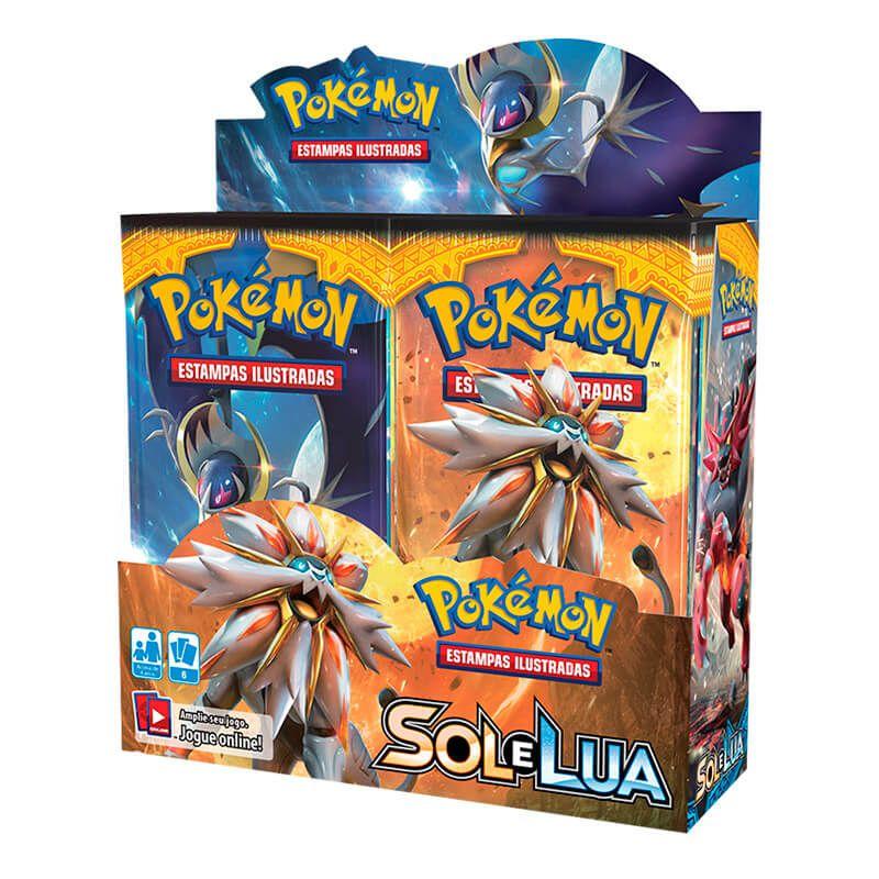 Pokémon TCG: Booster Box (36 unidades) SM1 Sol e Lua + Pasta Oficial Ultra PRO Pikachu