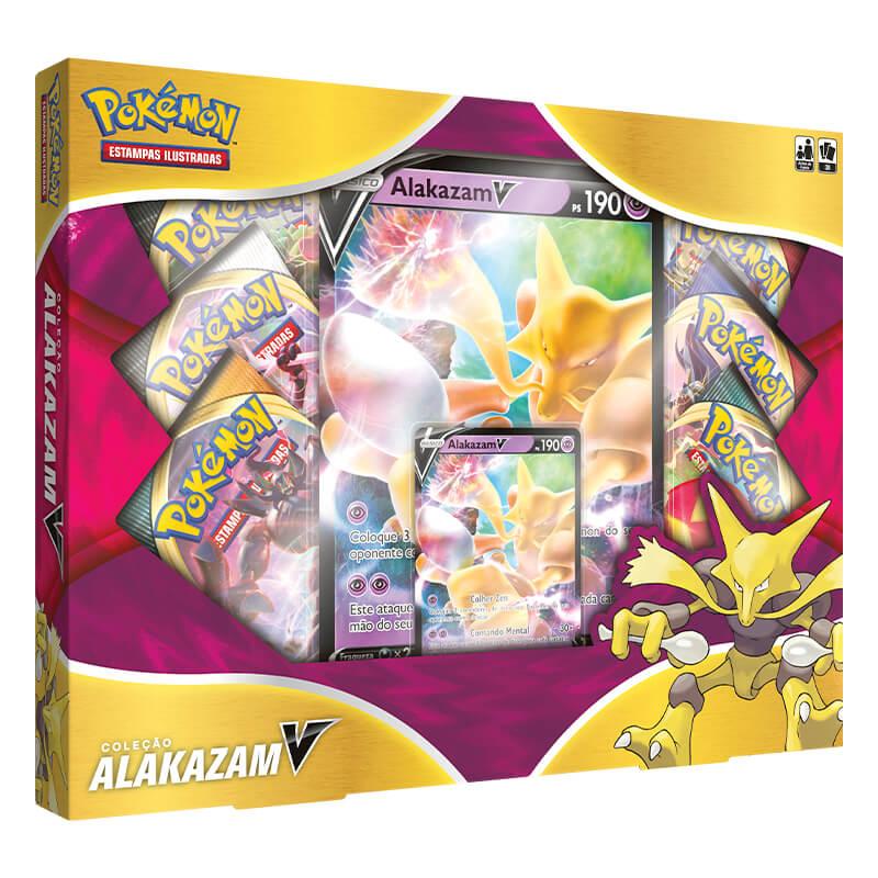 Pokémon TCG: Box Coleção Alakazam V