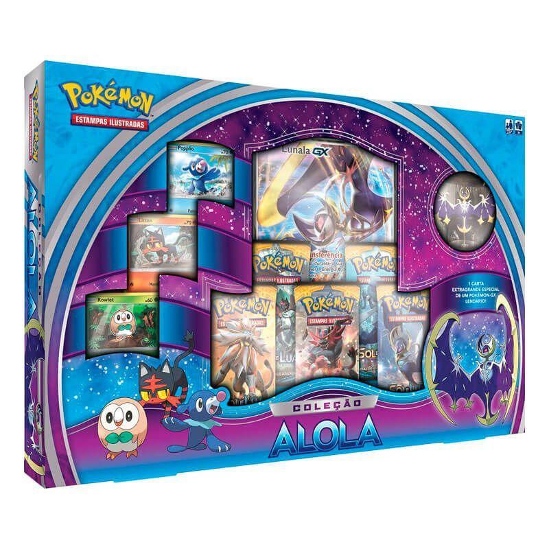 Pokémon TCG: Box Coleção Alola - Lunala GX