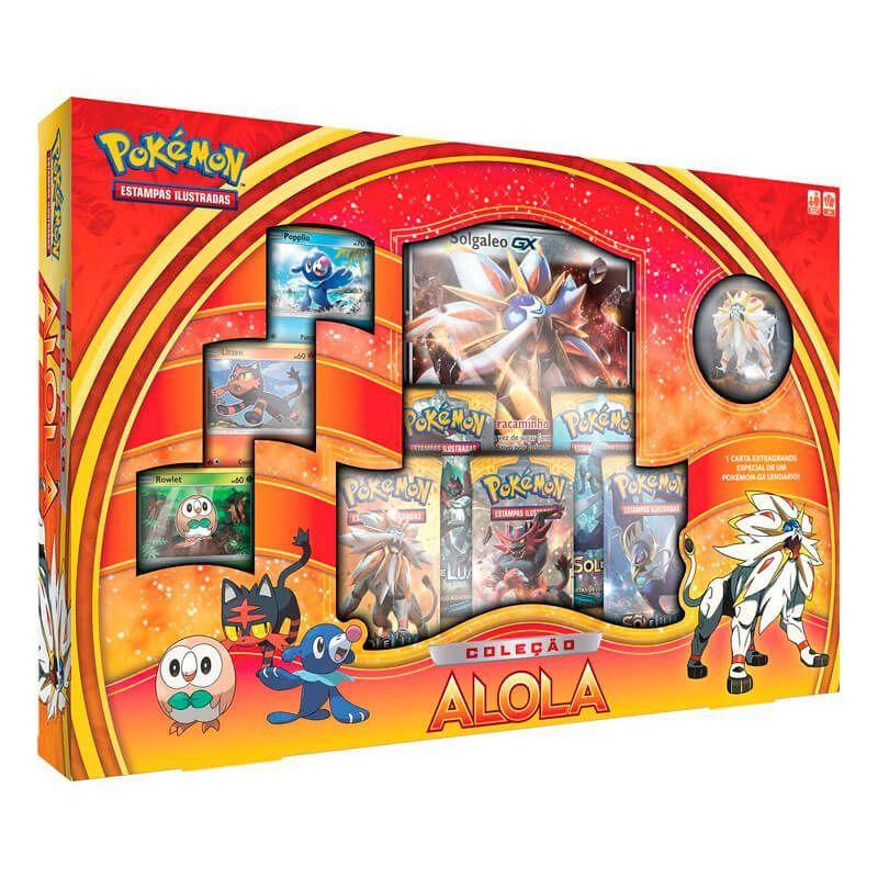 Pokémon TCG: Box Coleção Alola - Solgaleo GX
