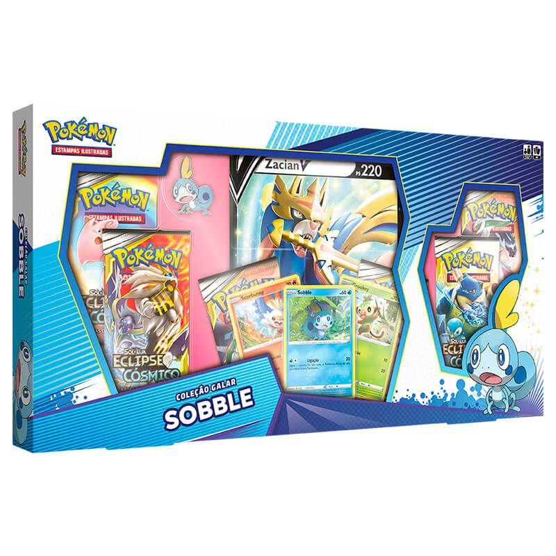 Pokémon TCG: Box Coleção Galar Sobble - Zacian V