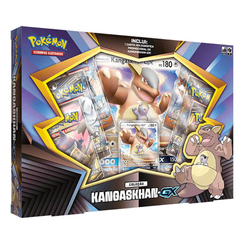 Pokémon TCG: Box Coleção Kangaskhan-GX