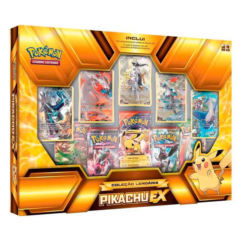 Pokémon TCG: Box Coleção Lendária - Pikachu EX