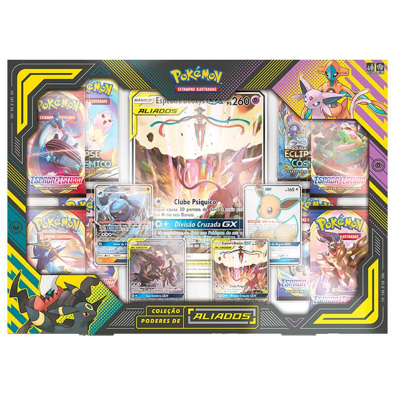 Pokémon TCG: Box Coleção Poderes de Aliados