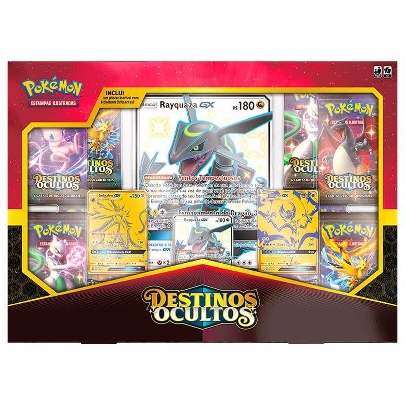 Pokémon TCG: Box Coleção Poderes Supremos SM11.5 Destinos Ocultos