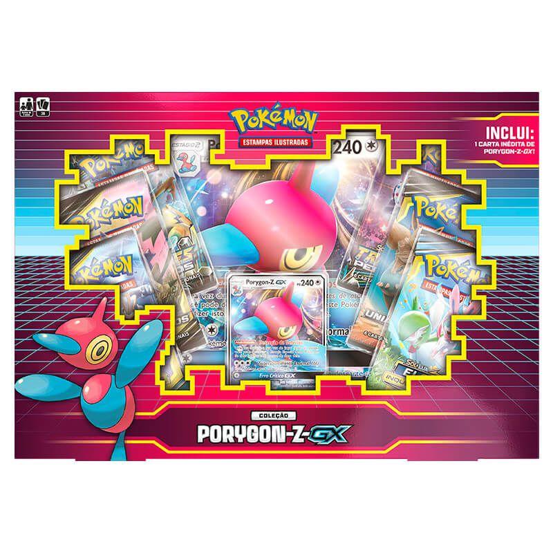 Pokémon TCG: Box Coleção Porygon-Z-GX
