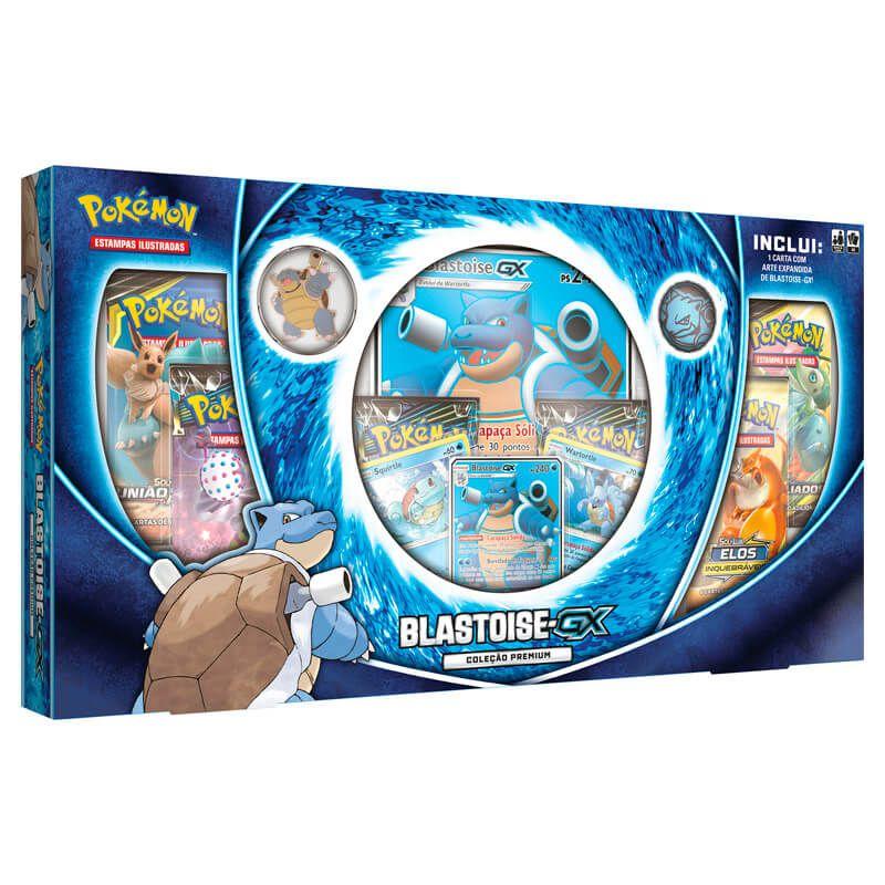 Pokémon TCG: Box Coleção Premium - Blastoise-GX