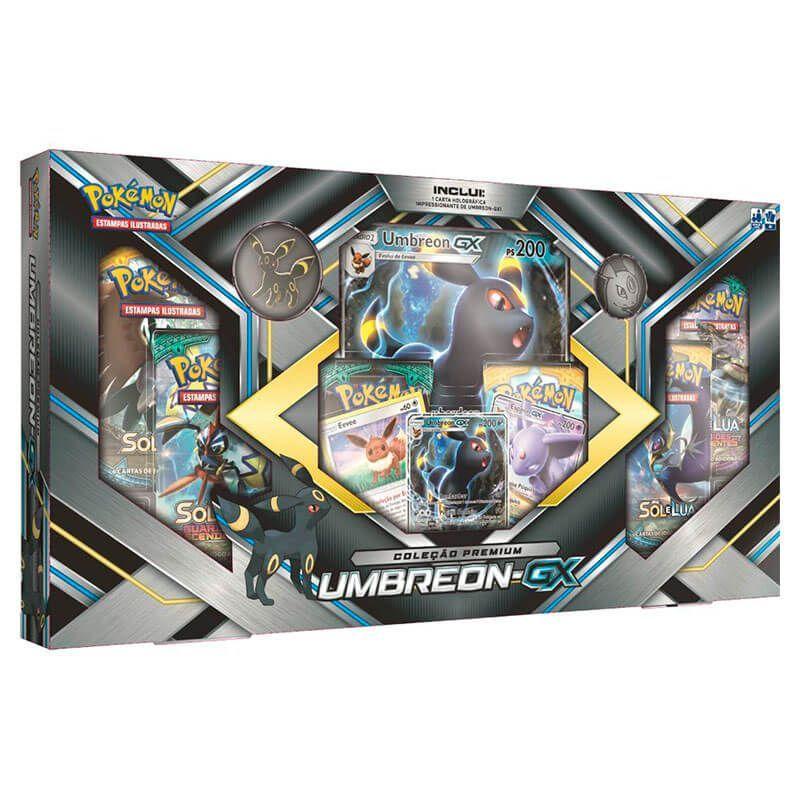 Pokémon TCG: Box Coleção Premium - Espeon-GX + Umbreon-GX