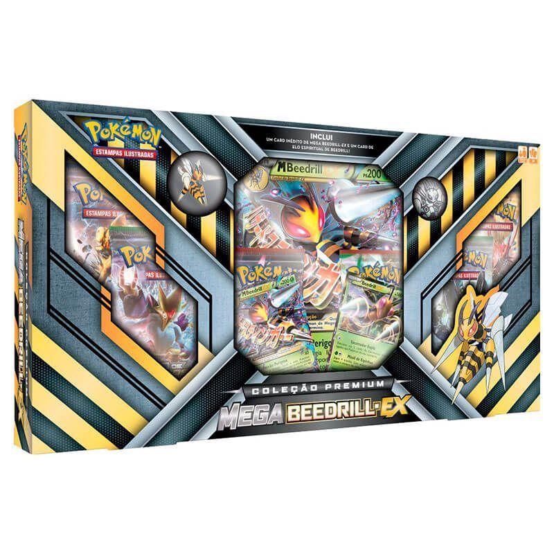 Pokémon TCG: Box Coleção Premium - Mega Beedrill-EX