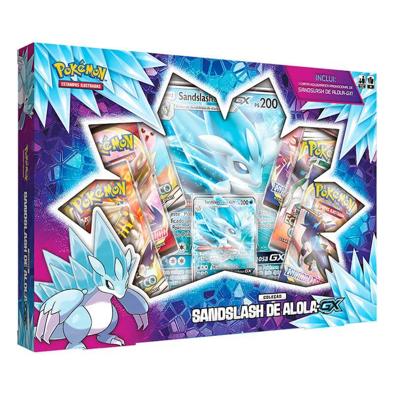 Pokémon TCG: Box Coleção Sandslash de Alola-GX