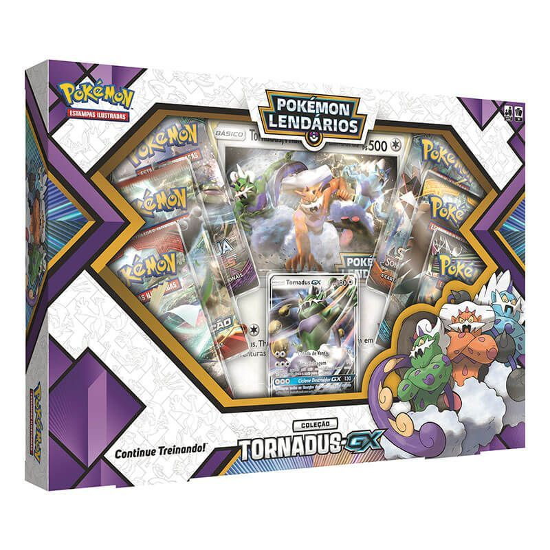 Pokémon TCG: Box Pokémon Lendários Forças da Natureza - Tornadus-GX
