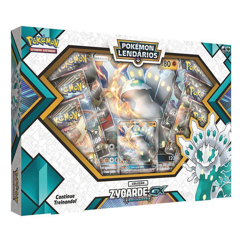 Pokémon TCG: Box Pokémon Lendários - Zygarde-GX Brilhante