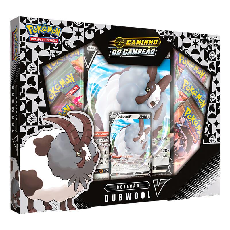 Pokémon TCG: Box SWSH3.5 Caminho do Campeão - Coleção Dubwool V + Hatterene V