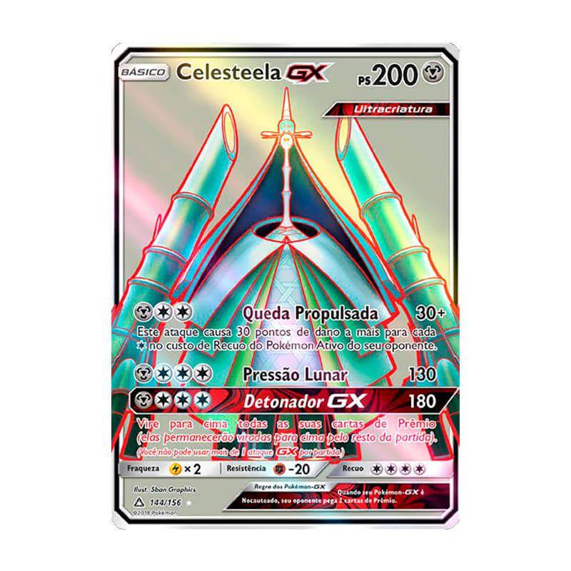 Pokémon TCG: Celesteela GX (144/156) - SM5 Ultra Prisma