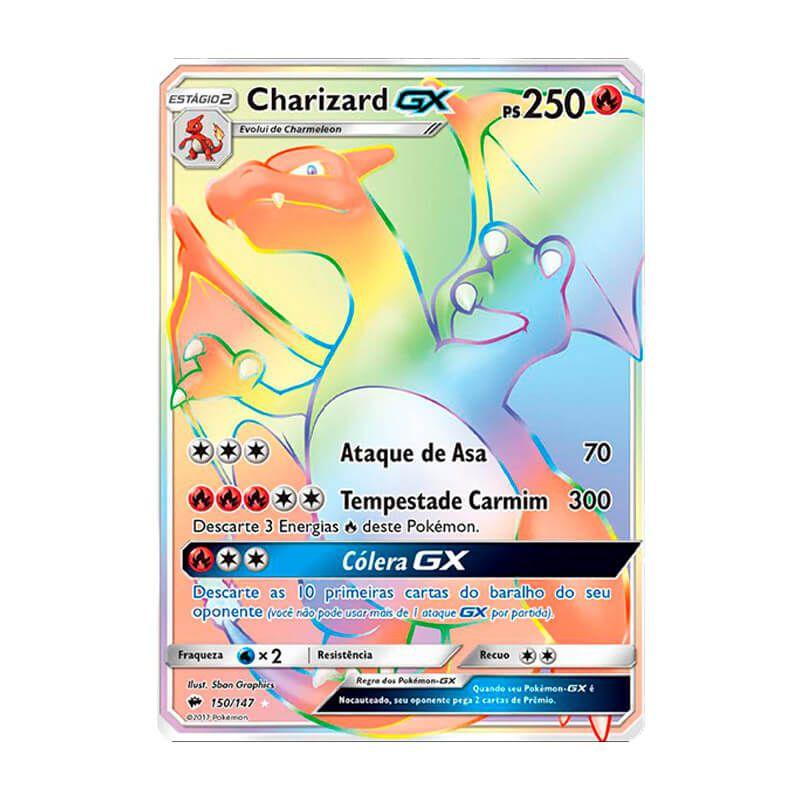 Pokémon TCG: Charizard GX (150/147) - SM3 Sombras Ardentes