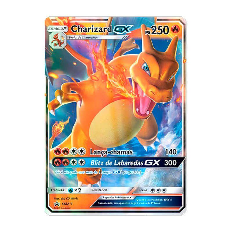 Pokémon TCG: Charizard GX (SM211) - SM Promo