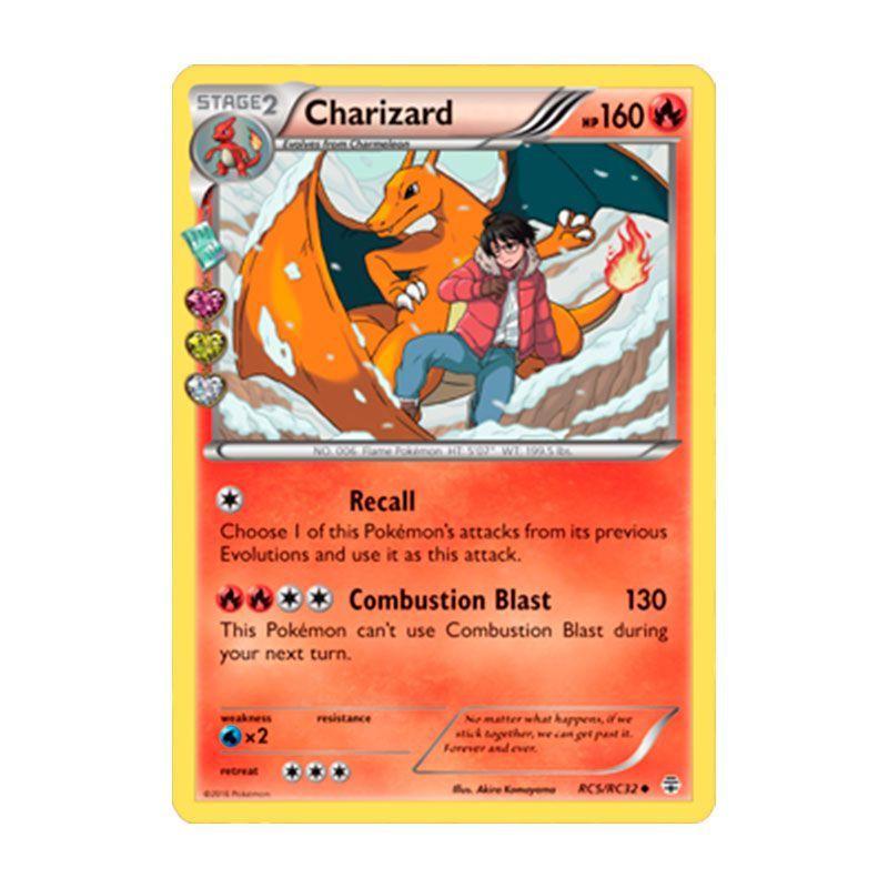 Pokémon TCG: Charizard (RC5/RC32) - Gerações