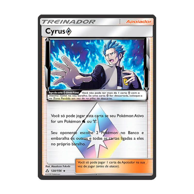Pokémon TCG: Cyrus Estrela Prisma (120/156) - SM5 Ultra Prisma