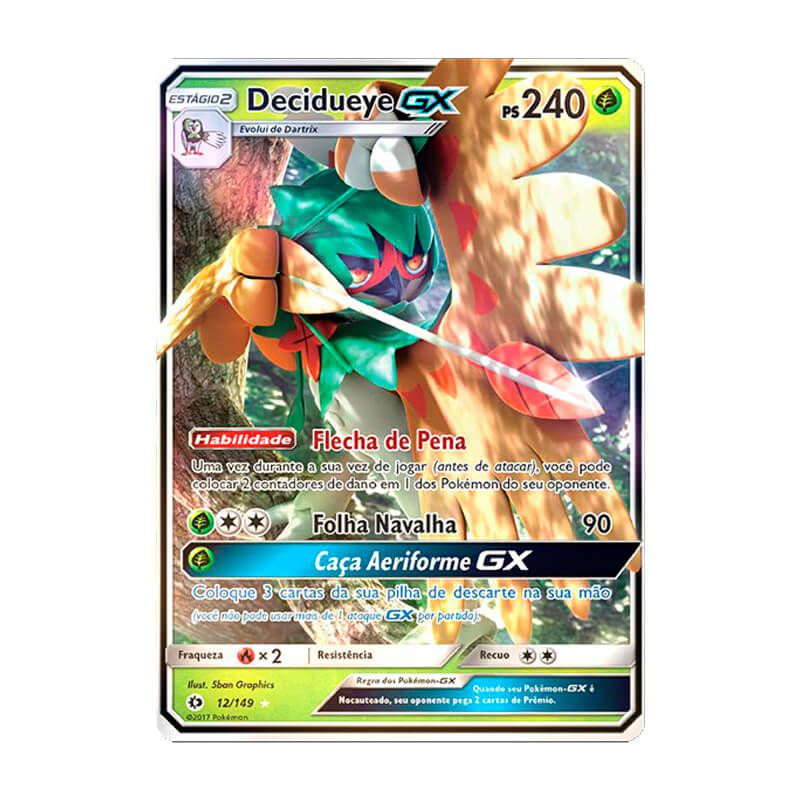 Pokémon TCG: Decidueye GX (12/149) - SM1 Sol e Lua