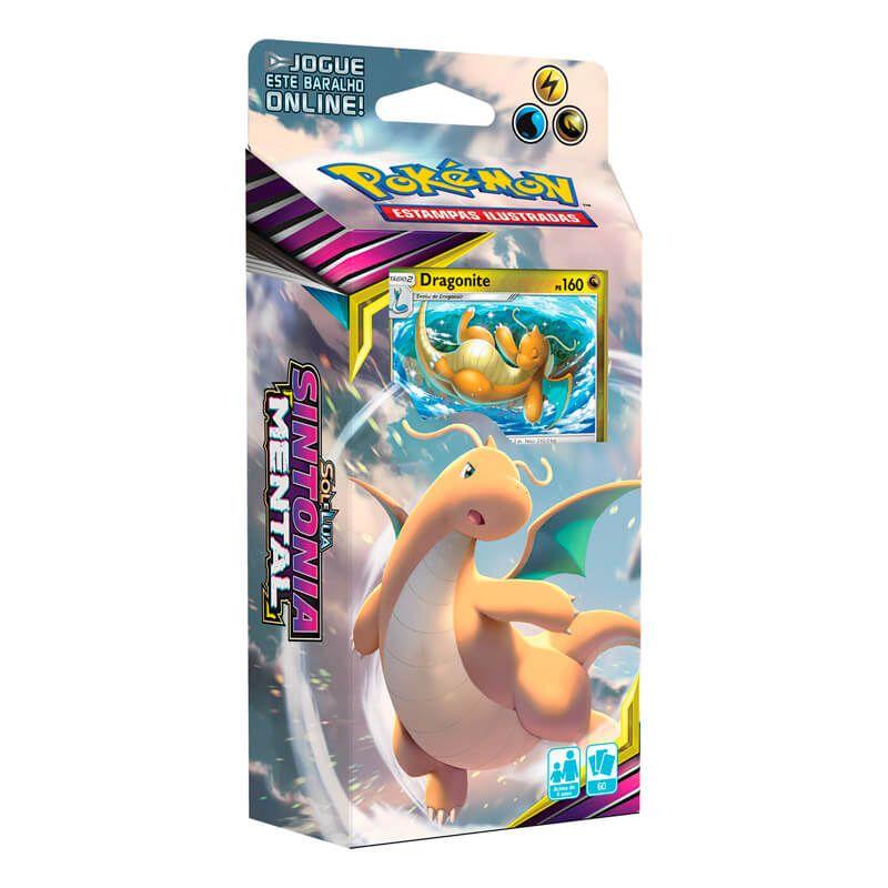 Pokémon TCG: Deck SM11 Sintonia Mental - Tormenta Crescente + Triple Pack Vikavolt