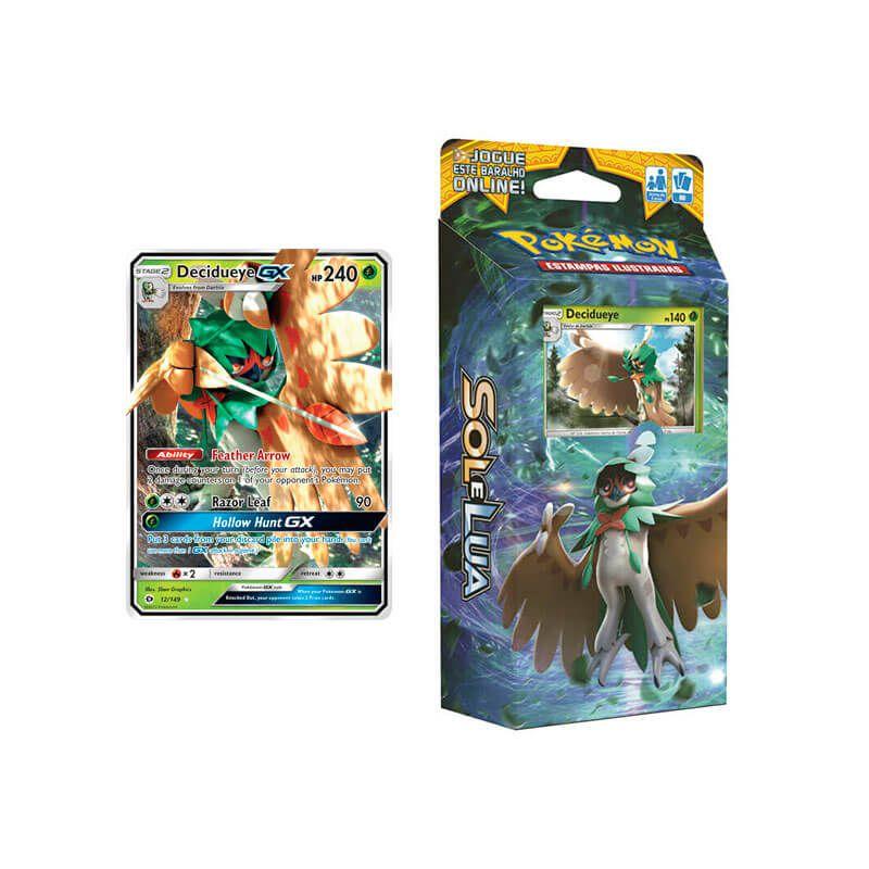 Pokémon TCG: Deck SM1 Sol e Lua - Sombra Florestal + Decidueye GX (SM1 12/149)
